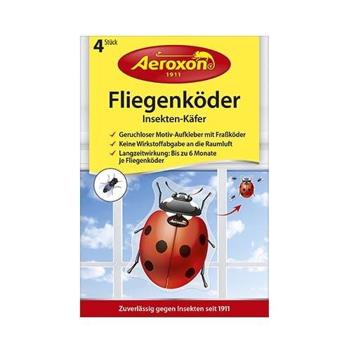 Aeroxon uzlīme pret mušām (mārīte), 4 gab. 1