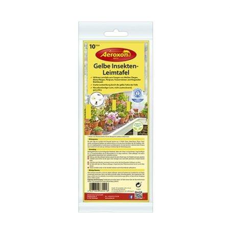 Aeroxon Желтые клейкие пластины для борьбы с насекомыми 10*25см, 10шт 5