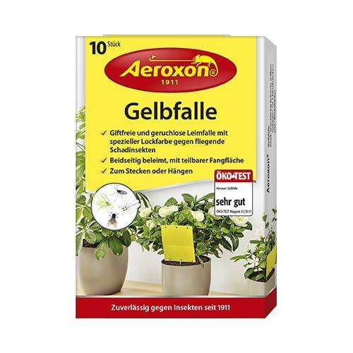 AEROXON Желтые липкие полосы от насекомых, 10 шт 1