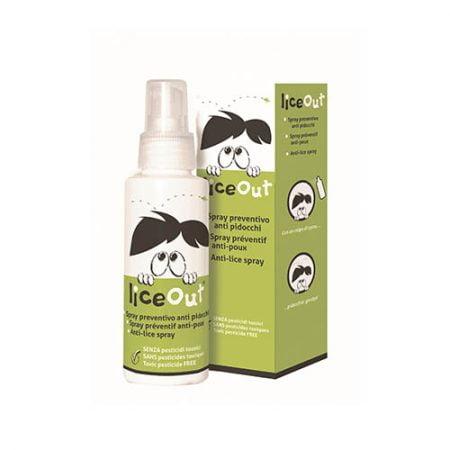 LiceOut izsmidzināms līdzeklis aizsardzībai pret galvas utīm, 100 ml 2