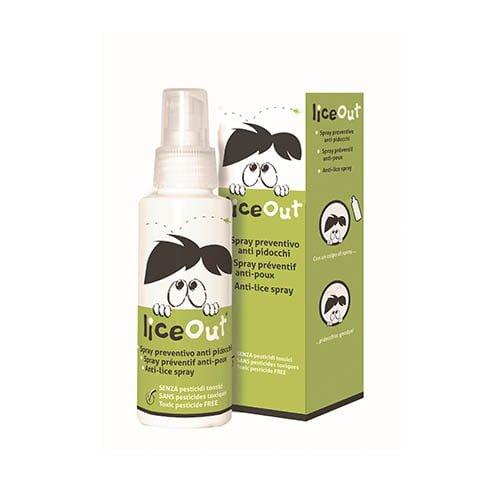LiceOut izsmidzināms līdzeklis aizsardzībai pret galvas utīm, 100 ml 1