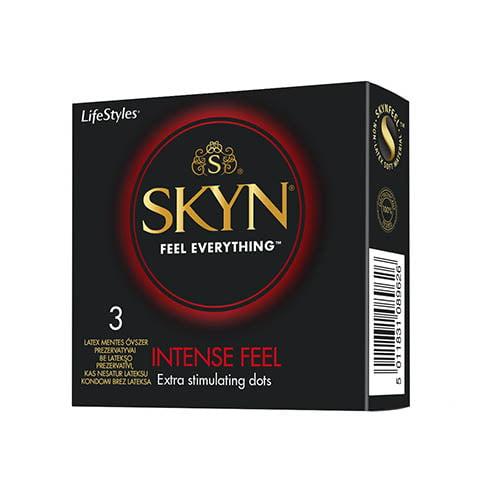 Prezervatīvi LifeStyles SKYN Intense Feel 3 gab. 1