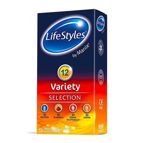 Презервативы LifeStyles by Manix Variety , 12 шт 1