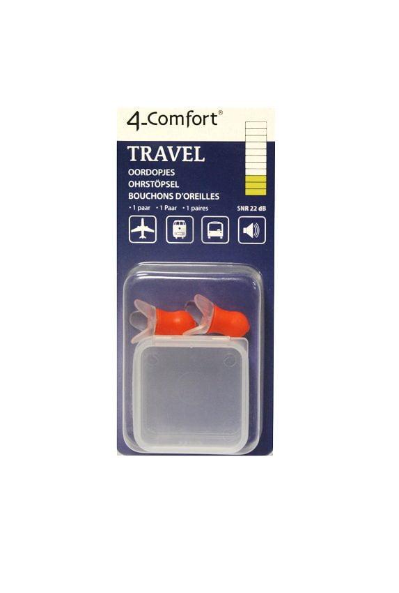 4-Comfort ausu aizbāžņi Travel (silikona, prettrokšņu) 1