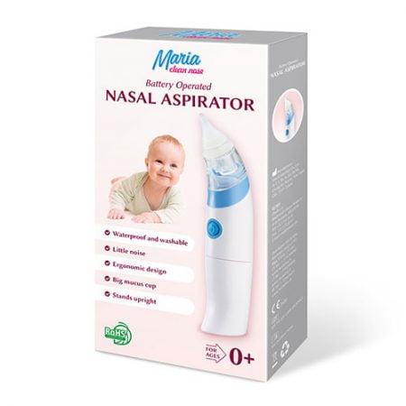 Maria Clean Nose - deguna aspirators, darbojas no baterijām 11
