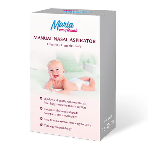 Maria Easy Breath - manuālais deguna aspirators 1