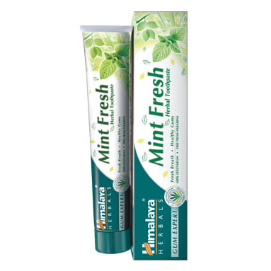 Himalaya Herbals Mint Fresh 75 ml zobu pasta 2