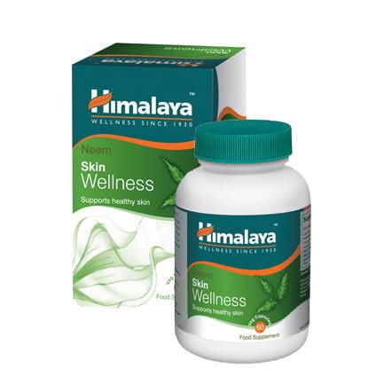 Himalaya Neem Skin Wellness N60 uztura bagātinātājs ādas veselībai 1