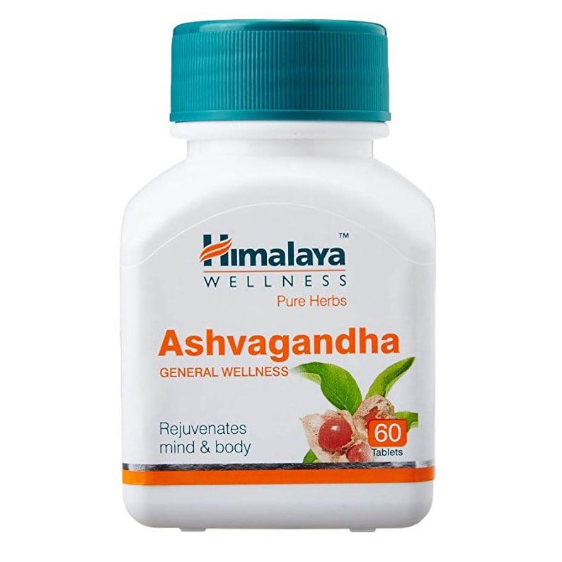 Himalaya Ashvagandha N60 uztura bagātinātājs tonusam un mieram 1