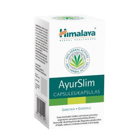 Himalaya AyurSlim N60 uztura bagātinātājs svara kontrolei 7