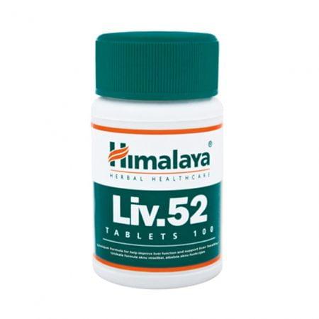 Himalaya Liv. 52 N100 uztura bagātinātājs aknu veselībai 5