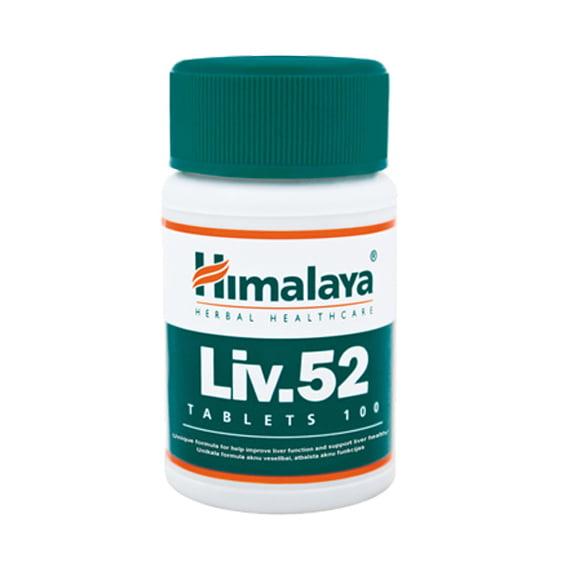Himalaya Liv. 52 N100 uztura bagātinātājs aknu veselībai 1