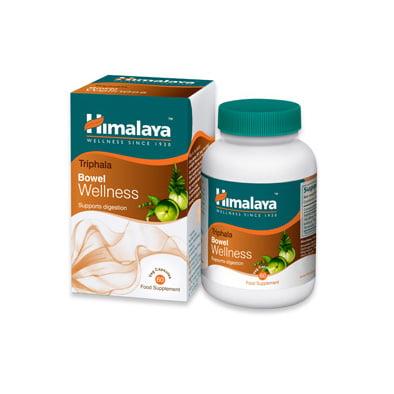 Himalaya Triphala Bowel Wellness N60 uztura bagātinātājs gremošanas trakta veselībai 1
