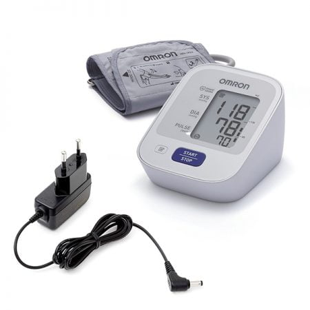 Измеритель артериального давления OMRON M2 + адаптер 2