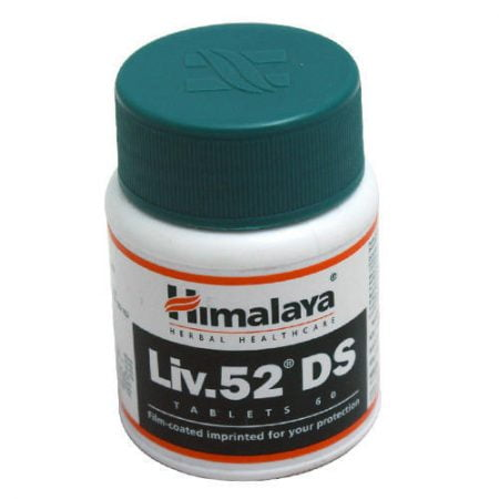 Himalaya Liv. 52 DS N60 uztura bagātinātājs aknu veselībai 21