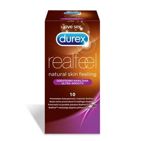 DUREX Real Feel prezervatīvi, 10 gab. 35