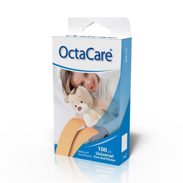 "Пластырь ""OctaCare"" эластичный, водонепроницаемый,  72mm x 19mm, N100 1"