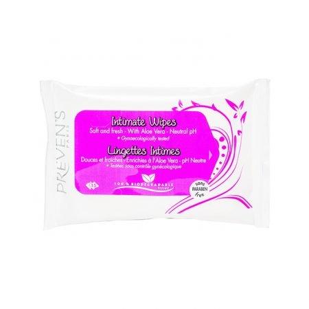 Preven's Paris mitrās salvetes intīmai higiēnai N15 3