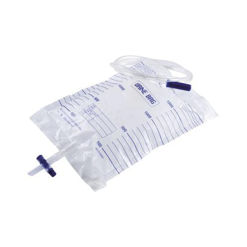 Rays urīna apmaiņas maiss ar izlēju (2000 ml, 90 cm caurule) 1