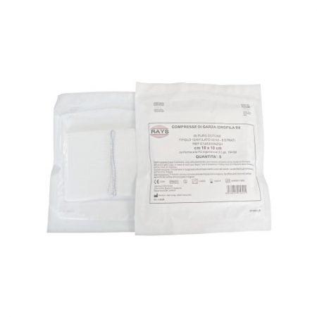 Rays sterilas marles salvetes (10 x 10 cm) 2