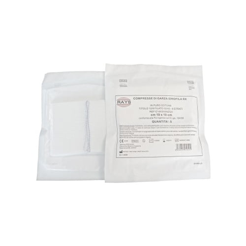 Rays sterilas marles salvetes (10 x 10 cm) 1