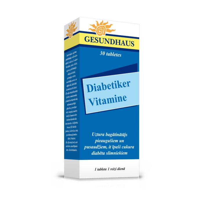 WÖRWAG PHARMA vitamīni diabētiķiem, 30 gab. 1