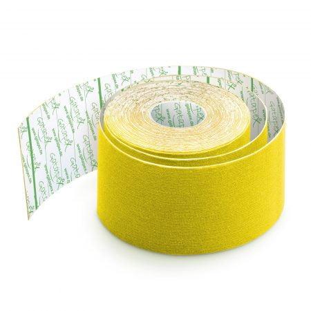 Gatapex kinezioloģiskais teips dzeltenā krāsā (5 cm x 5,5 m), 1 gab. 7