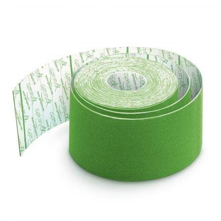 Gatapex kinezioloģiskais teips gaiši zaļā krāsā (5 cm x 5,5 m), 1 gab. 6