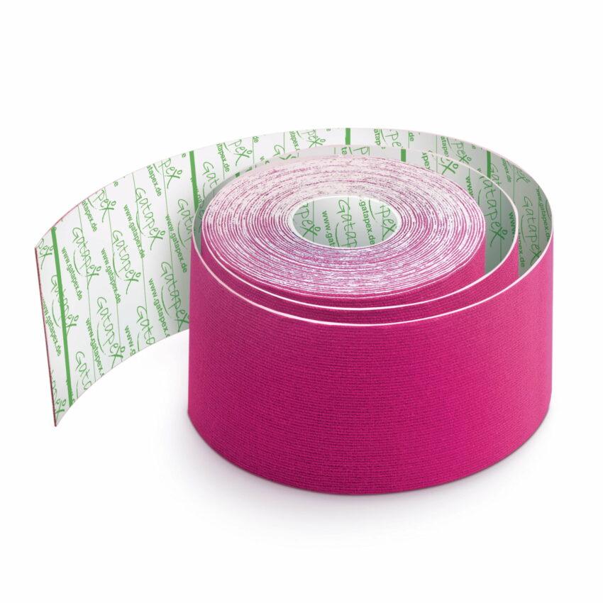 Gatapex kinezioloģiskais teips rozā krāsā (5 cm x 5,5 m), 1 gab. 1
