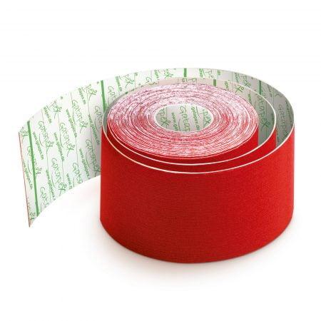 Gatapex kinezioloģiskais teips sarkanā krāsā (5 cm x 5,5 m), 1 gab. 6