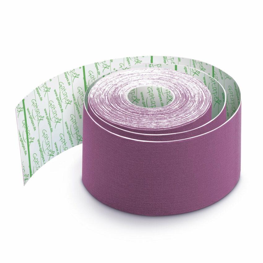 Gatapex kinezioloģiskais teips violetā krāsā (5 cm x 5,5 m), 1 gab. 1