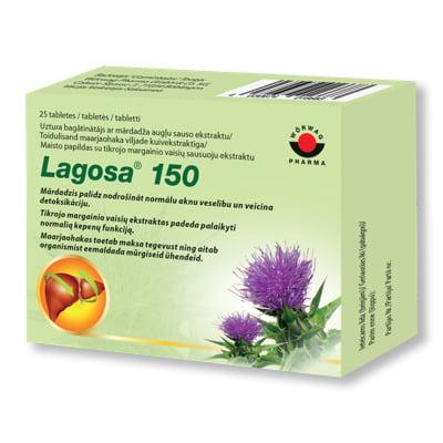 Lagosa 150 uztura bagātinātājs aknu veselībai, 25 tabletes 5