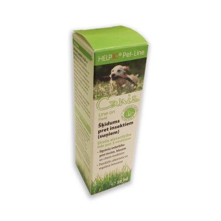 HELPIC Canis Line On šķīdums pret insektiem suņiem, 50 ml 5