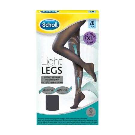 Компрессионные колготки Scholl Light Legs, размер XL, 20 DEN, черные 2