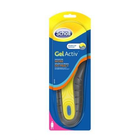 Scholl GelActiv Work стельки для женской рабочей обуви, 1 пара 2