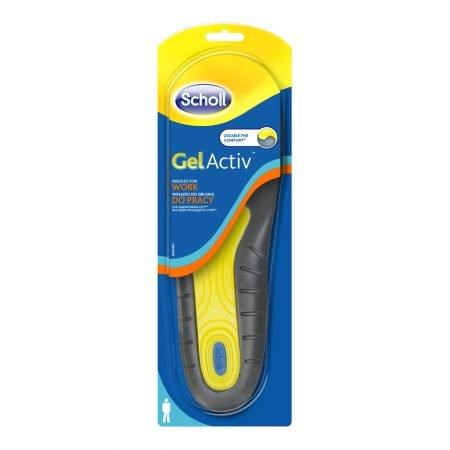 Scholl GelActiv Work стельки для мужской рабочей обуви, 1 пара 4