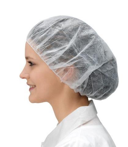 Cepure BOUFFANT XL izmērs, N100, baltas 1
