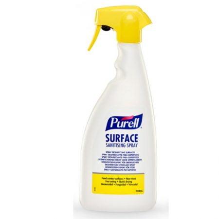 PURELL SURFACE SANITIZING  дезинфицирующий спрей для поверхностей  на основе спирта 750 мл 2