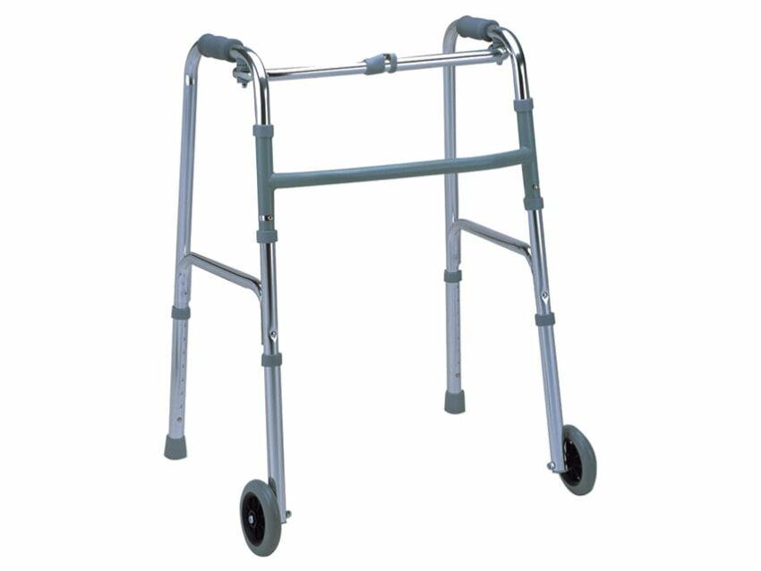 Прогулочные ходунки с 2-мя передними колёсиками 1