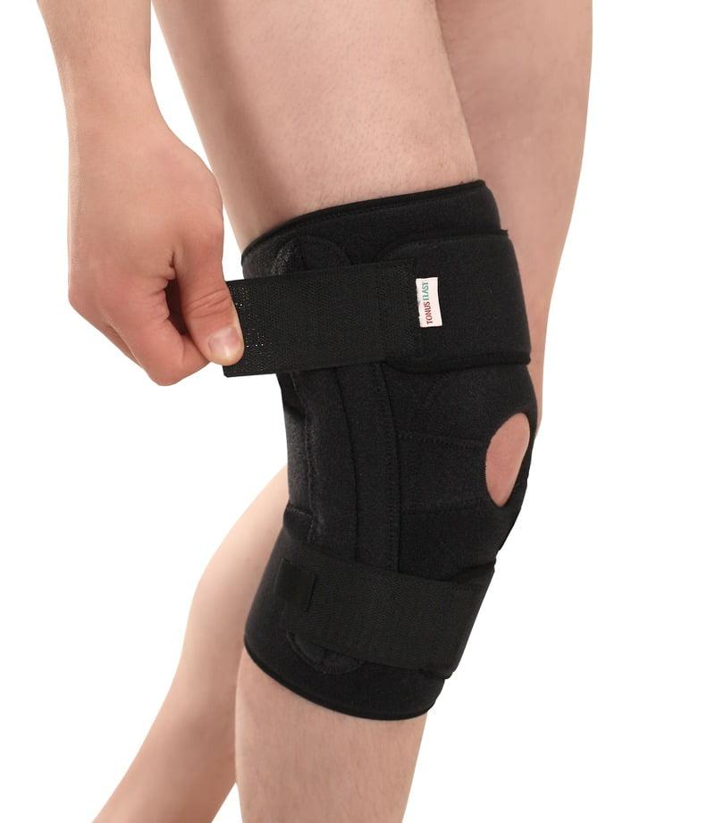 """Эластичная неопреновая повязка (ортез) для фиксации коленного сустава, застёжка """"velcro"""" - на липучке, TONUS ELAST 9903-01 LUX. 1"""