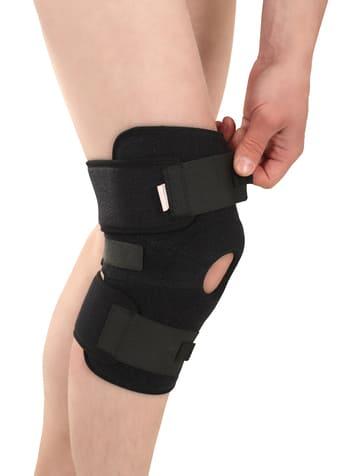 """Эластичная неопреновая повязка (ортез) для фиксации коленного сустава, застёжка """"velcro"""" - на липучке, TONUS ELAST 9903 LUX. 1"""