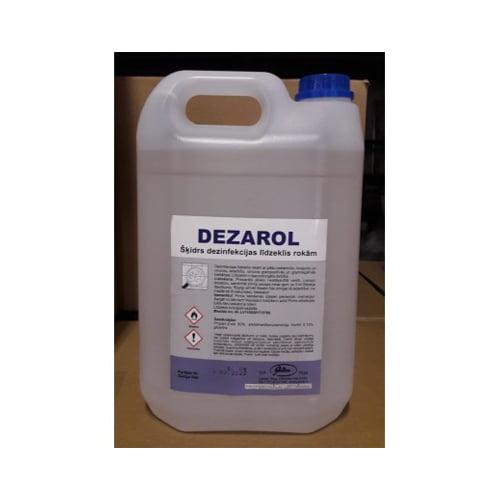 Dezinfekcijas līdzeklis rokām DEZAROL 5 L 1