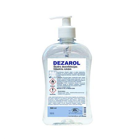 Dezinfekcijas līdzeklis rokām DEZAROL 500 ml 4