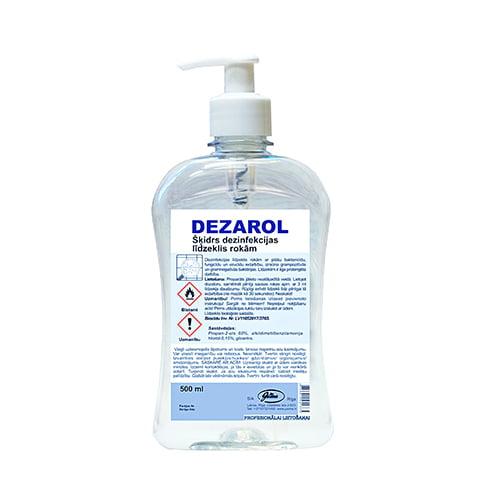 Dezinfekcijas līdzeklis rokām DEZAROL 500 ml 1