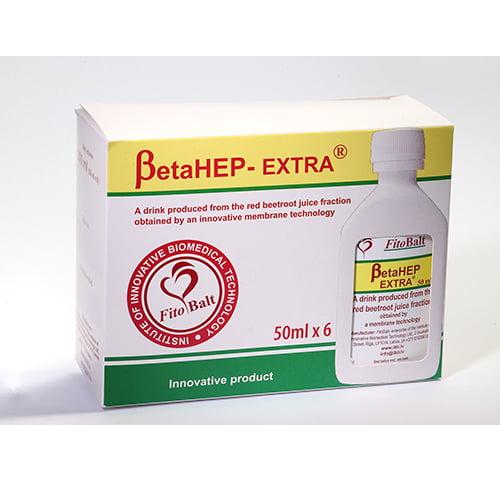 BetaHEP EXTRA, 6 флаконов х 50 мл, напиток 1
