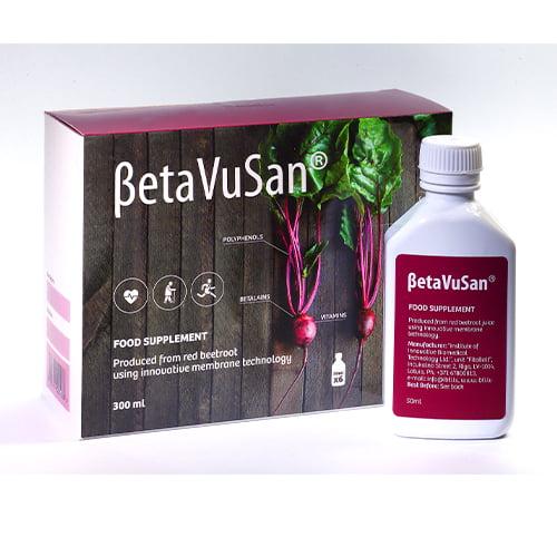 BetaVuSan, 6 флаконов х 50 мл, пищевая добавка 1