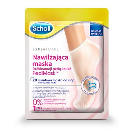 Scholl увлажняющая маска - носочки для ног с кокосовым маслом, 1 пара 2