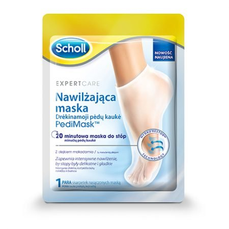 Scholl Питательная маска - носочки для ног с маслом ореха макадамия, 1 пара 5