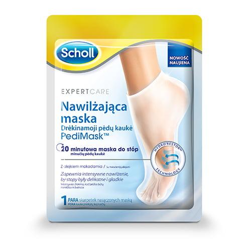 Scholl mitrinoša pēdu maska - zeķītes ar makadamijas eļļu, 1 pāris 1