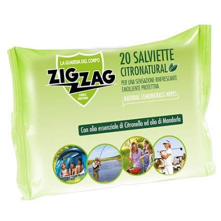 ZIG ZAG влажные салфетки от комаров, 20 шт. 2
